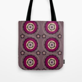 Central Asian Pattern Tote Bag
