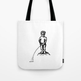 Flowing Downstream Tote Bag