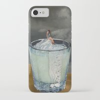 drink iPhone & iPod Cases featuring DRINK by Beth Hoeckel