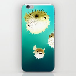 PUFFERFISH iPhone Skin