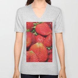Strawberry Fest Unisex V-Neck