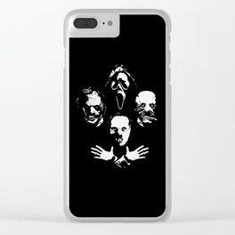 Murderinos True Crime Clear iPhone Case