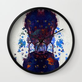 your footsteps are pavlovs bell Wall Clock