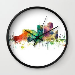 Tucson, Arizona Skyline SP Wall Clock