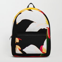 Multi-Color Lilies Backpack