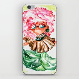 Coco Mintobee - Food And Chibi iPhone Skin