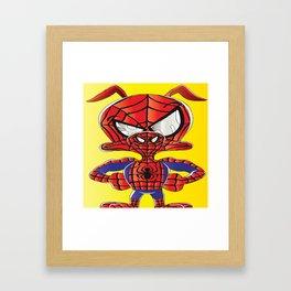 Spider Verse Ham Framed Art Print