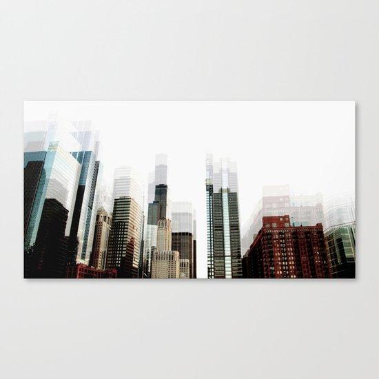diffused Canvas Print