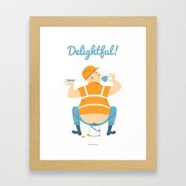 Builder's Tea Framed Art Print