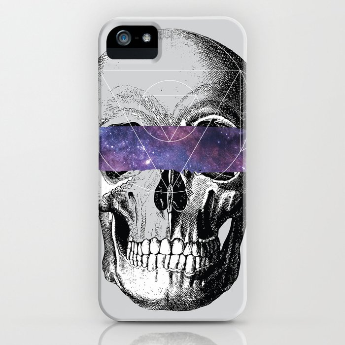 Don't Look // Anatomy x Geometry iPhone Case