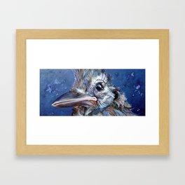 BLUEJAY Framed Art Print