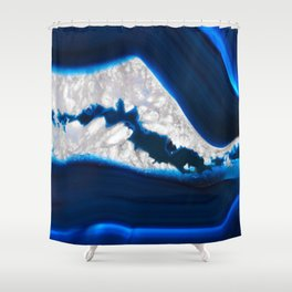 Electrical Agate Shower Curtain