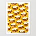 Ham Sandwich Pattern by kellygilleran