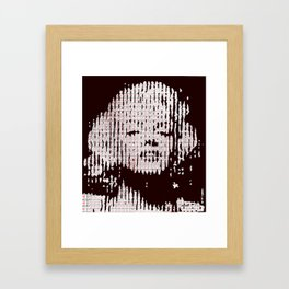 Monroe loves SC Framed Art Print