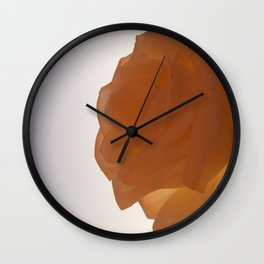 Rose Prose Wall Clock