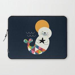 Seals Mermaid Laptop Sleeve