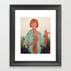 And You Fade Away Framed Art Print