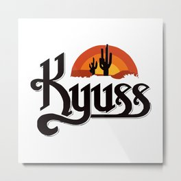 Kyuss Metal Print