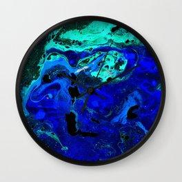 Neptune's Atlas Wall Clock