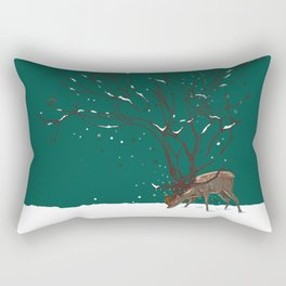 Winter Is All Over You Rectangular Pillow