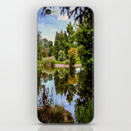 Lakeside reflections. iPhone Skin