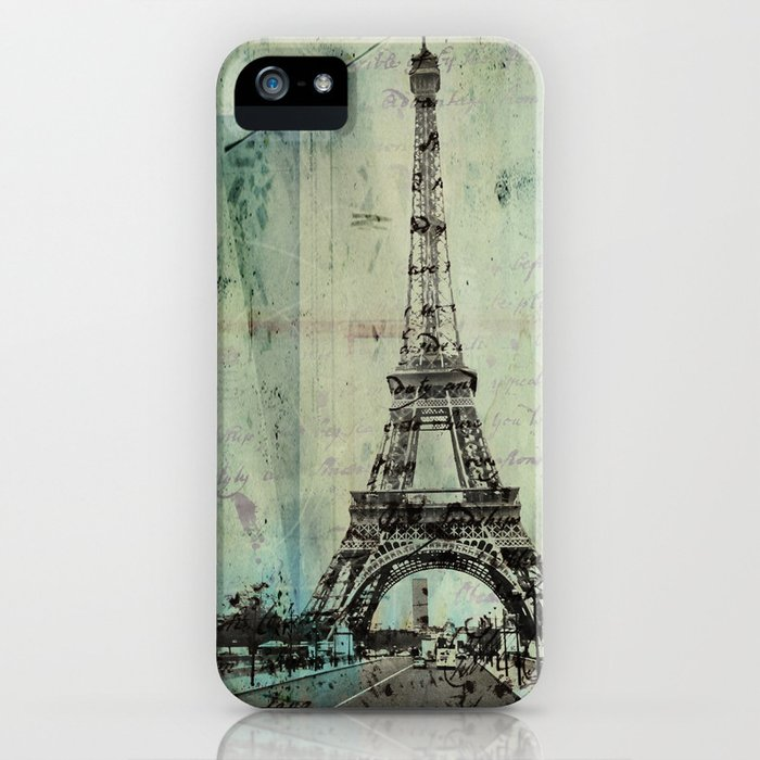 With Love From Paris iPhone Case