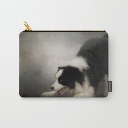 Ready to Play - Border Collie Carry-All Pouch