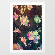 VINTAGE FLOWERS XLIII Art Print