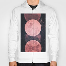 Pink Moon Phases Hoody