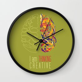 I am thinking Creative Wall Clock