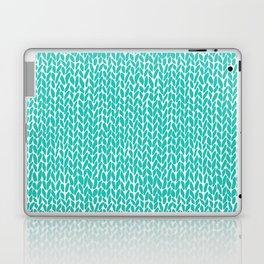 Hand Knit Aqua Laptop & iPad Skin