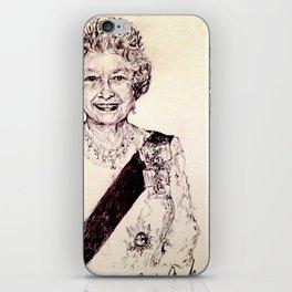 Queen Elizabeth iPhone Skin