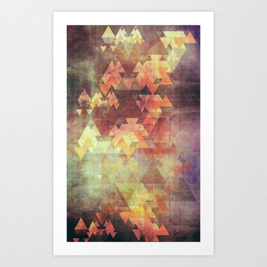 Rearrange the sky Art Print