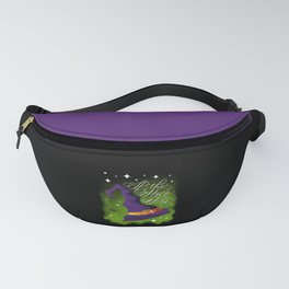Halloween-If the Hat Fits-Witch Hat Dark Fanny Pack