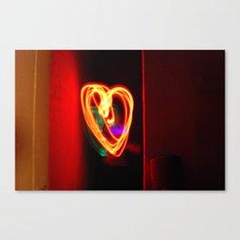Light Love Canvas Print