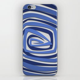 Vortex Spiral iPhone Skin