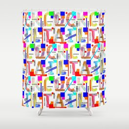 Cocktail - C O C K T A I L Shower Curtain