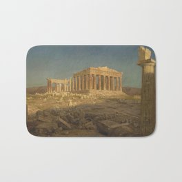 The Parthenon by Frederic Edwin Church Bath Mat