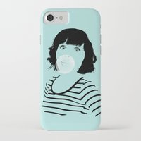 bubblegum iPhone & iPod Cases featuring Bubblegum by FalcaoLucas