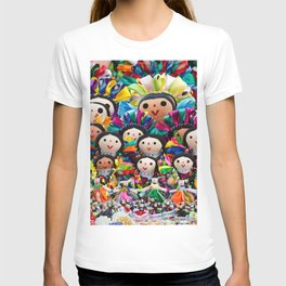 Traditional Mexican dolls T-shirt