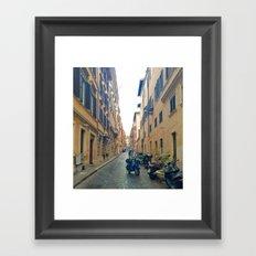 Italian Street 4 Framed Art Print