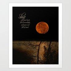 Shine! Art Print