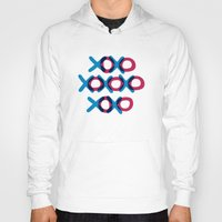 xoxo Hoodies featuring XOXO by ghennah
