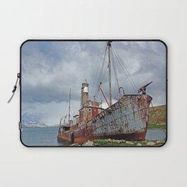 Whaling Ship with Gun Laptop Sleeve
