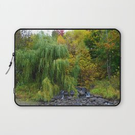 Weeping Willow Tree in Revelstoke BC, Canada Laptop Sleeve