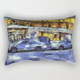 New York police Department Van Gogh Rectangular Pillow