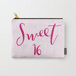 Sweet 16 Carry-All Pouch
