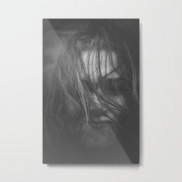 BW - Portrait - 07 Metal Print
