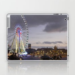 Wheel Concorde Paris Laptop & iPad Skin