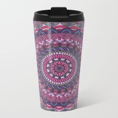 Plum Beautiful Metal Travel Mug